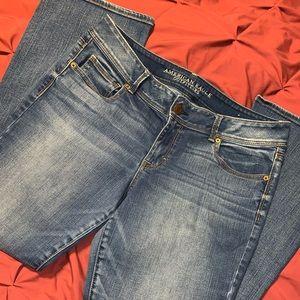 EUC AE Superstretch Kickboot Jeans